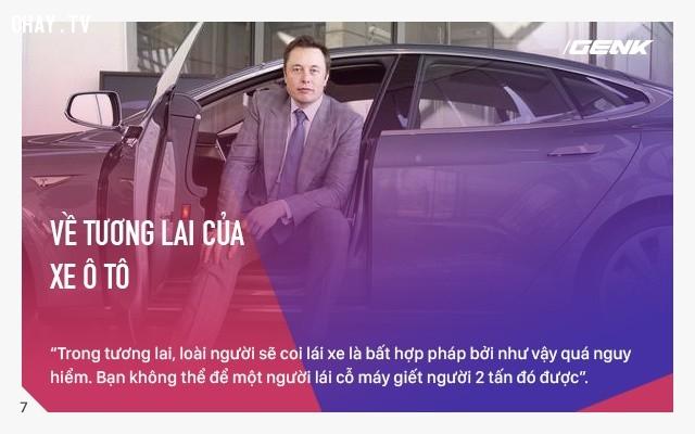 Về tương lai của xe oto,Elon Musk,câu nói hay