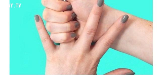 Xoa bóp ngón tay đeo nhẫn,ngón tay,bấm huyệt,mẹo sức khỏe,xoa bóp