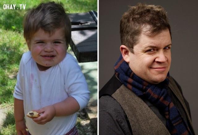 Cậu bé trông giống hệt Patton Oswalt,Giống nhau,nhân vật nổi tiếng,Khuôn mặt y đúc nhau