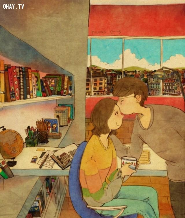 Yêu là không quên bày tỏ