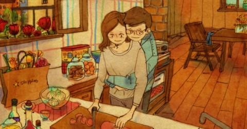 Tan chảy với bộ ảnh định nghĩa về tình yêu siêu dễ thương