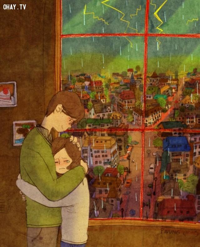 Yêu là cùng nhau đi qua bão giông