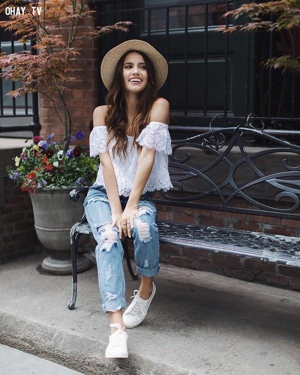 ,quần baggy jean,thời trang nữ