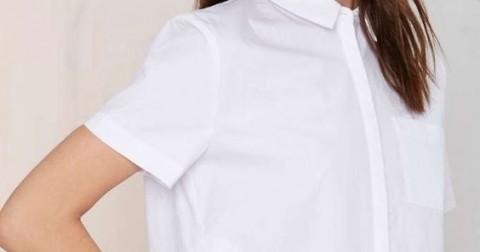 10 cách phối đồ với áo sơ mi trắng dáng dài cho các nàng