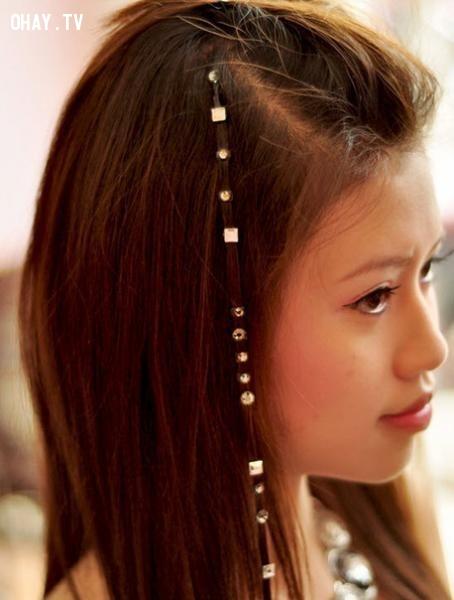 Rắc rối thứ nhất - những cô nàng tóc lấp lánh,làm đẹp,trang sức,rắc rối