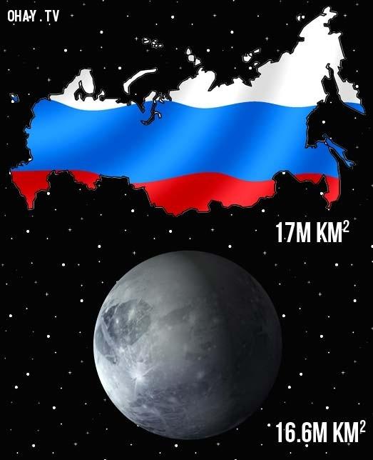 Bề mặt nước Nga còn lớn hơn bề mặt sao Diêm Vương,sự thực,facts,những điều thú vị trong cuộc sống