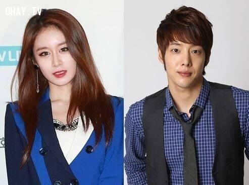 Nữ Idol Jiyeon T ara và nam diễn viên Kang Dongho,Jiyeon,My runway,kpop