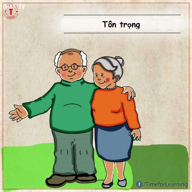 Thể hiện sự tôn trọng lẫn nhau,tình yêu,tình bạn,hạnh phúc,hôn nhân,chung thủy
