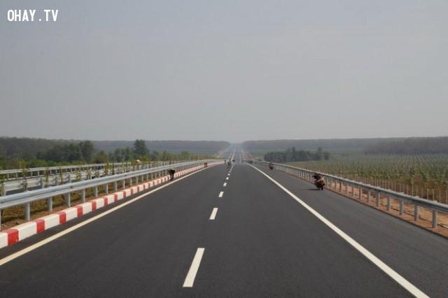 Cao tốc Long Thành - Dầu Giây,đường cao tốc,những điều thú vị trong cuộc sống,1001 câu hỏi vì sao