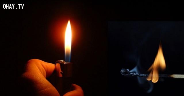 Bật lửa được phát minh trước cả những que diêm.,khoa học,funfact,những điều thú vị trong cuộc sống