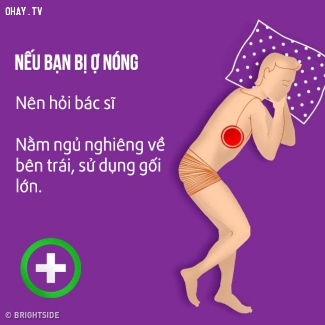 Nếu bạn bị ợ nóng,cải thiện giấc ngủ,khó ngủ,ngủ ngon,mẹo sức khỏe