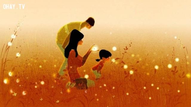 Bố mẹ luôn dành điều tốt nhất cho con,đổ lỗi cho người khác,gia đình