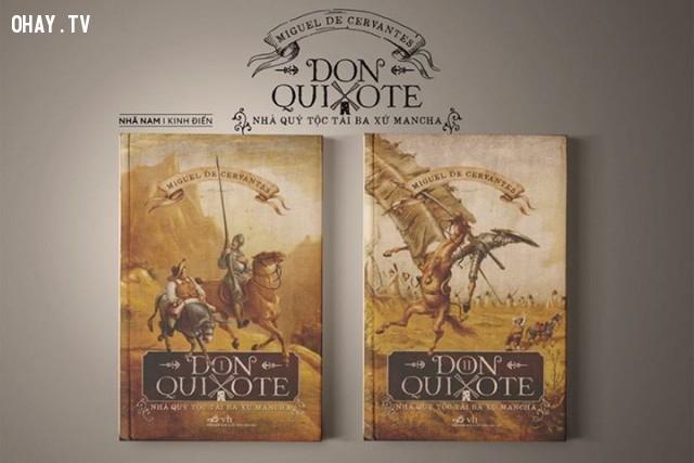Don Quixote - Miguel De Cervantes,sách hay