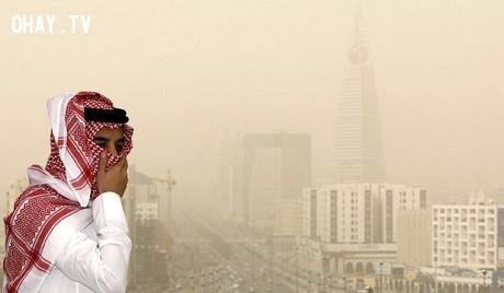 Al Jubail, Ả Rập Xê Út,thành phố,rác thải,ô nhiễm