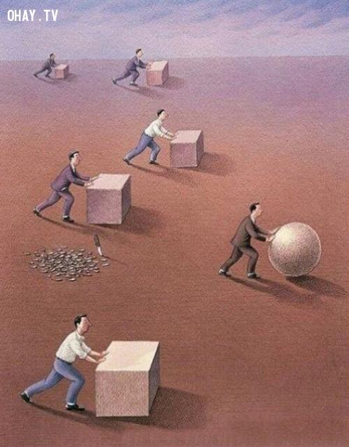 Không cần bảo thủ quy tắc, dám sáng tạo làm những điều mới mẻ để vượt xa hơn đối thủ.,suy ngẫm,ý nghĩa cuộc sống,bài học
