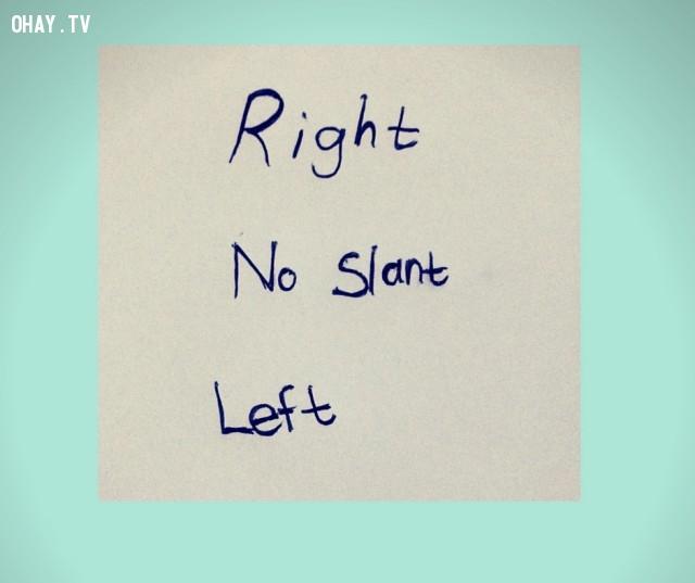 2. Dáng đứng chữ,chữ viết,tính cách