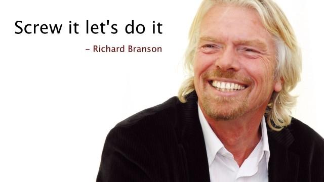 2. Screw It, Let's Do It (Mặc kệ nó, làm tới đi) - Richard Branson,cách tư duy,suy nghĩ,sách hay