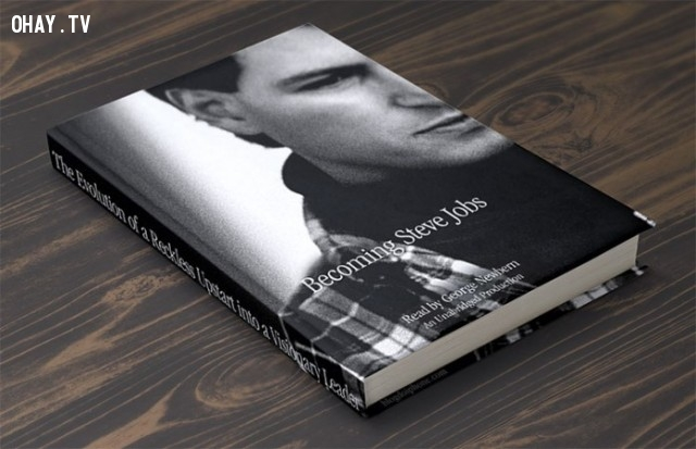 4. Becoming Steve Jobs (Tạm dịch: Trở thành Steve Jobs) - Brent Schlender và Rick Tetzeli,cách tư duy,suy nghĩ,sách hay