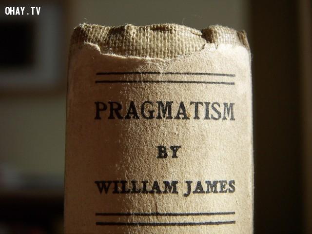 1. Pragmatism: A New Name for Some Old Ways of Thinking (tạm dịch: Chủ nghĩa thực dụng: Cái tên mới cho vài lối tư duy cũ) - William James ,cách tư duy,suy nghĩ,sách hay