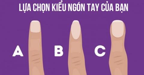 Hình dạng ngón tay cho biết điều tuyệt vời gì trong tính cách của bạn?