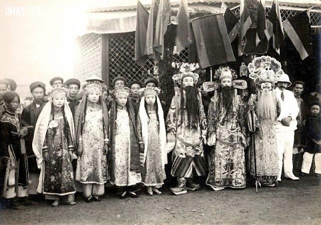 Nghệ sĩ hát bội ở Nam kỳ năm 1890,Việt nam xưa,Việt Nam thế kỷ 18,Ảnh cổ Việt Nam