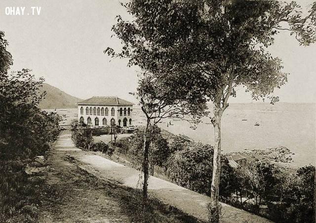 Vũng Tàu, Bạch Dinh năm 1910,Việt nam xưa,Việt Nam thế kỷ 18,Ảnh cổ Việt Nam