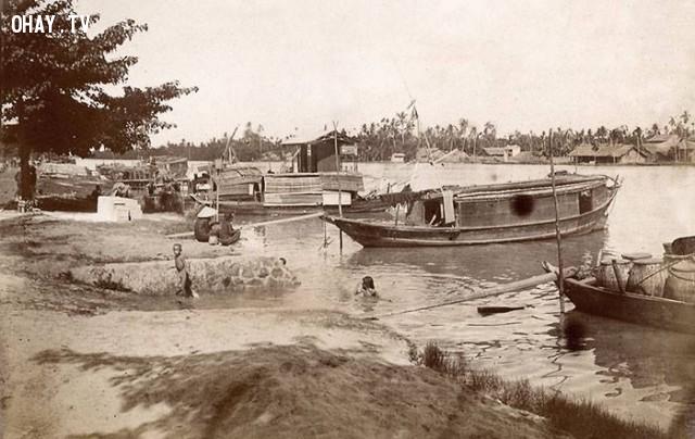 Nam kỳ - một khúc sông khoảng từ 1898 đến 1905 ,Việt nam xưa,Việt Nam thế kỷ 18,Ảnh cổ Việt Nam