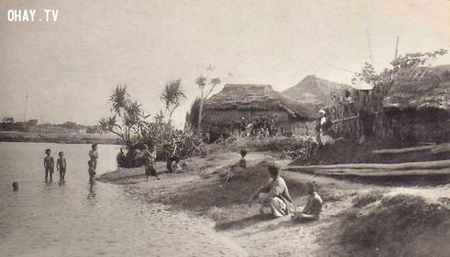 Người dân bản xứ Đà Nẵng năm 1859,Việt nam xưa,Việt Nam thế kỷ 18,Ảnh cổ Việt Nam