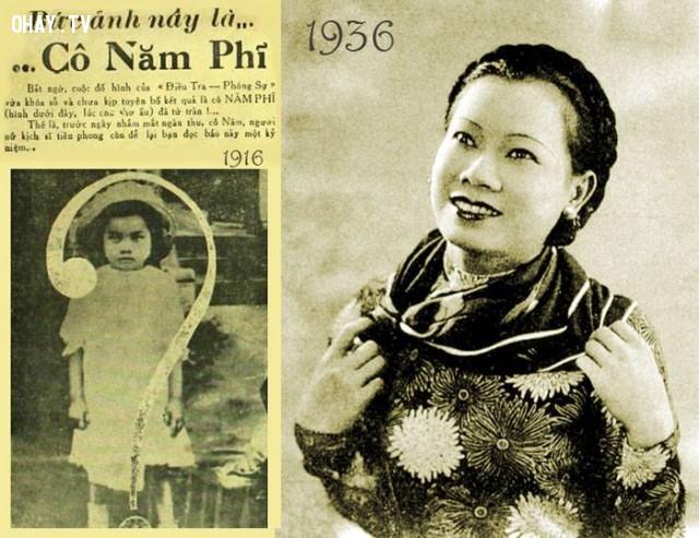 Nghệ sĩ Năm Phỉ hồi thơ ấu (1916) và thời hoàng kim (1936),Việt nam xưa,Việt Nam thế kỷ 18,Ảnh cổ Việt Nam