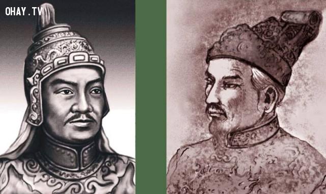 Vua Quang Trung - Nguyễn Huệ và Vua Gia Long - Nguyễn Ánh,Việt nam xưa,Việt Nam thế kỷ 18,Ảnh cổ Việt Nam