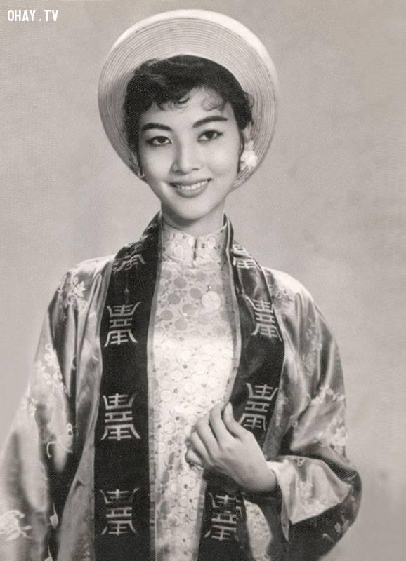 Minh tinh Thẩm Thúy Hằng thời mới vào nghề năm 1957,Việt nam xưa,Việt Nam thế kỷ 18,Ảnh cổ Việt Nam