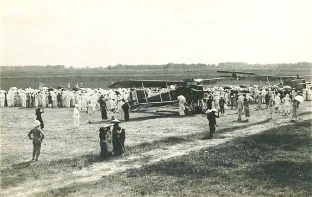 Sân bay Bạch Mai - Hà Nội năm 1924,Việt nam xưa,Việt Nam thế kỷ 18,Ảnh cổ Việt Nam