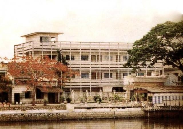 Trường tư thục Đại Đồng của người Hoa,Bến Tre xưa,Xứ dừa,hình xưa,ảnh cổ,ảnh lịch sử
