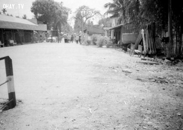 Bến phà Hàm Luông phía Mỏ Cày - khoảng 1990,Bến Tre xưa,Xứ dừa,hình xưa,ảnh cổ,ảnh lịch sử