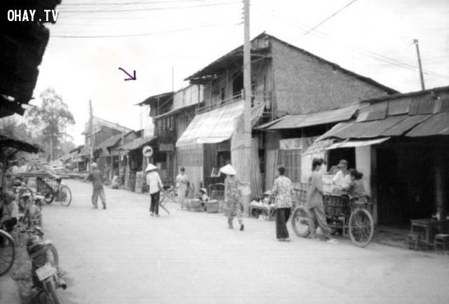 Vị trí Công viên tượng đài Hoàng Lam hiện nay,Bến Tre xưa,Xứ dừa,hình xưa,ảnh cổ,ảnh lịch sử