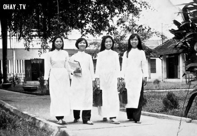 Học sinh trường Trung học công lập Kiến Hòa năm 1972,Bến Tre xưa,Xứ dừa,hình xưa,ảnh cổ,ảnh lịch sử