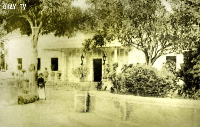 Dinh Tham biện của Pháp năm 1894 - tiền thân của Bảo tàng tỉnh hiện nay,Bến Tre xưa,Xứ dừa,hình xưa,ảnh cổ,ảnh lịch sử
