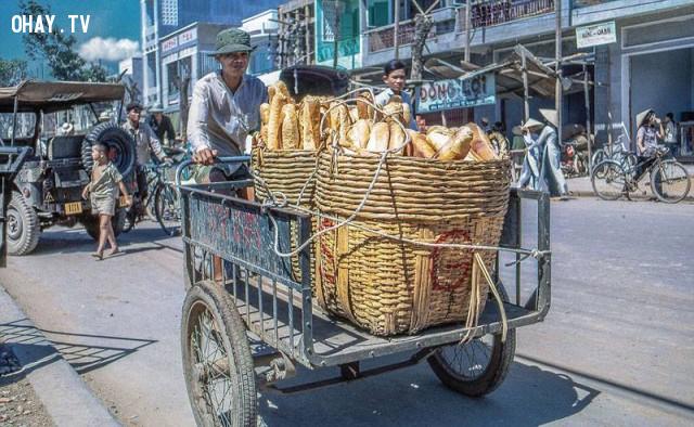 Bánh mì Mỹ Tho, năm 1969,Bến Tre xưa,Xứ dừa,hình xưa,ảnh cổ,ảnh lịch sử