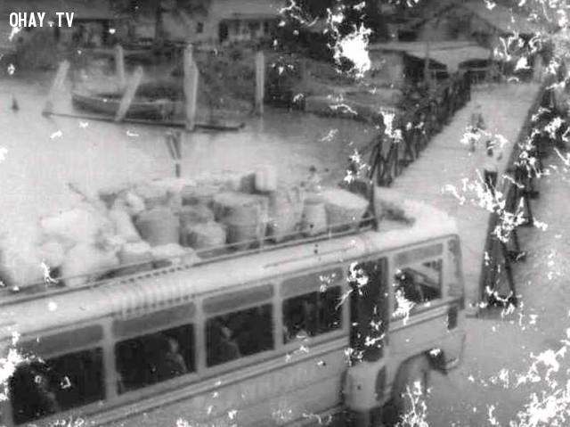 Xe đò Thạnh Phú ,Bến Tre xưa,Xứ dừa,hình xưa,ảnh cổ,ảnh lịch sử