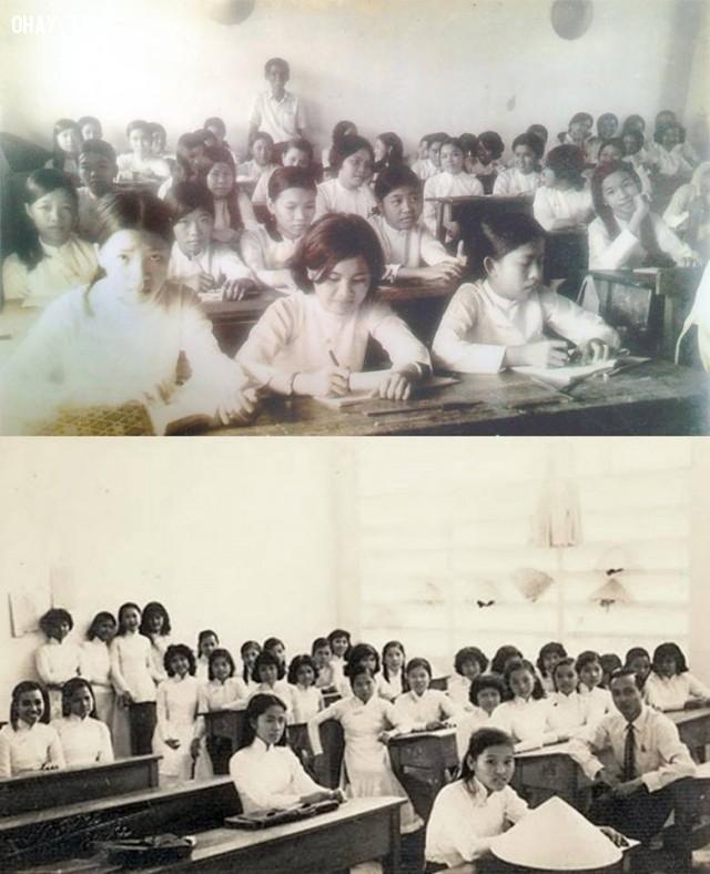 Lớp học của Trường Trung học Kiến Hòa 1974,Bến Tre xưa,Xứ dừa,hình xưa,ảnh cổ,ảnh lịch sử