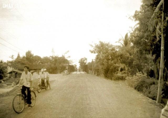 Cầu Sơn Đông 1990,Bến Tre xưa,Xứ dừa,hình xưa,ảnh cổ,ảnh lịch sử