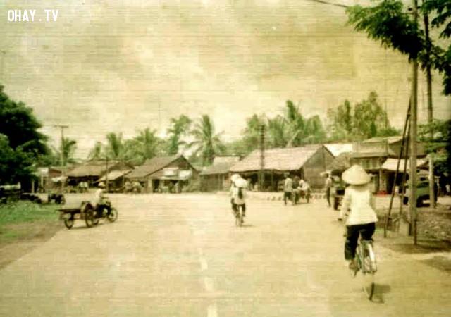 Ngã ba Tân Thành 1995,Bến Tre xưa,Xứ dừa,hình xưa,ảnh cổ,ảnh lịch sử