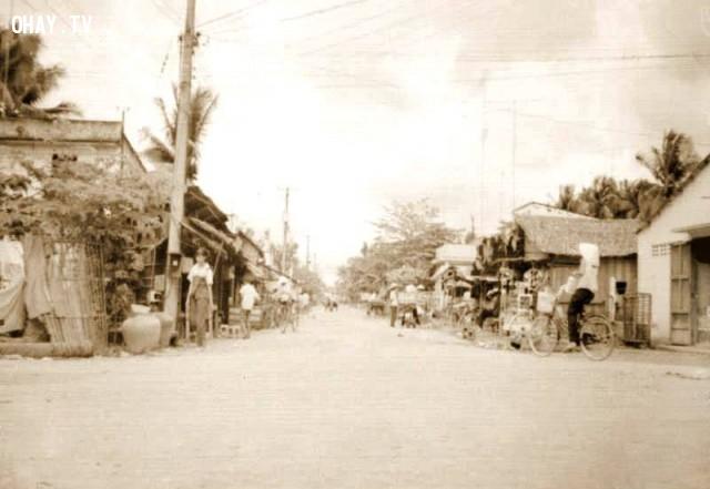 Ngã tư Phú Khương 1990,Bến Tre xưa,Xứ dừa,hình xưa,ảnh cổ,ảnh lịch sử