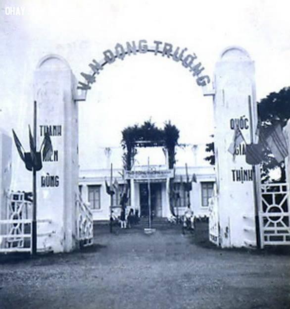 Vận động trường 1956 - nay là Siêu thị Co.opmart,Bến Tre xưa,Xứ dừa,hình xưa,ảnh cổ,ảnh lịch sử