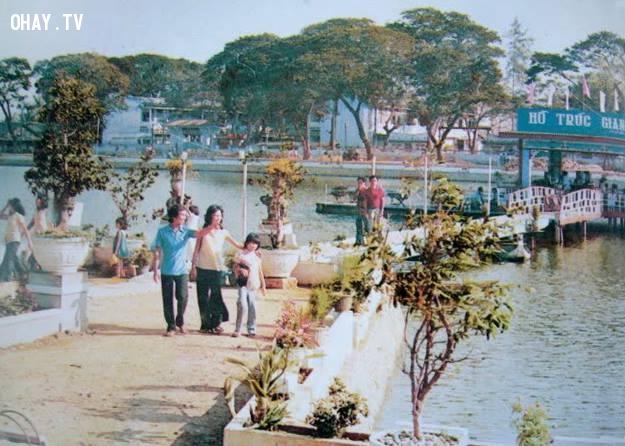 Hồ Trúc Giang 1982 ,Bến Tre xưa,Xứ dừa,hình xưa,ảnh cổ,ảnh lịch sử