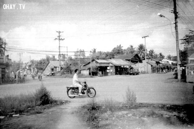 Ngã tư Phú Khương 1990 ,Bến Tre xưa,Xứ dừa,hình xưa,ảnh cổ,ảnh lịch sử