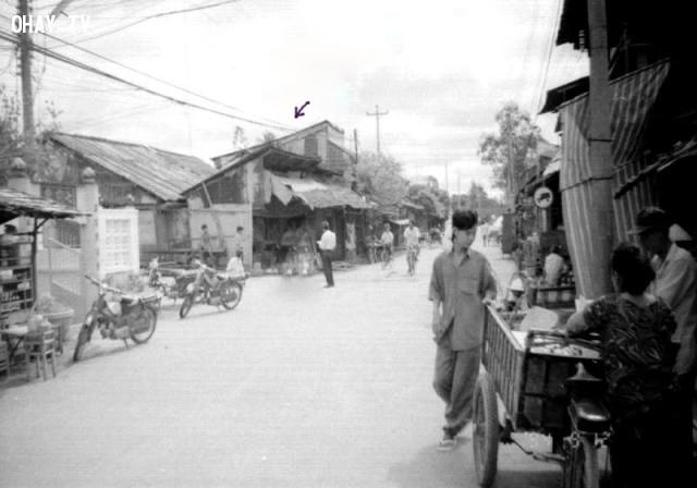 Vị trí Khách sạn Hàm Luông hiện nay,Bến Tre xưa,Xứ dừa,hình xưa,ảnh cổ,ảnh lịch sử