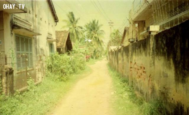 Lộ số 4 năm 1994,Bến Tre xưa,Xứ dừa,hình xưa,ảnh cổ,ảnh lịch sử