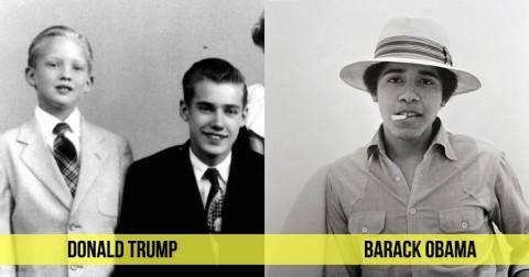 Chân dung thời niên thiếu của các vị tổng thống Mỹ
