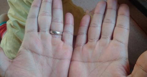 Nếu có bàn tay hình chữ nhất như thế này, bạn quả là một người vô cùng đặc biệt…